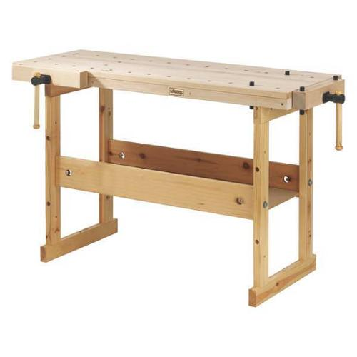 "Sjobergs SJO-33281 Workbench,Birch,57"" W,19"" D G0697965"