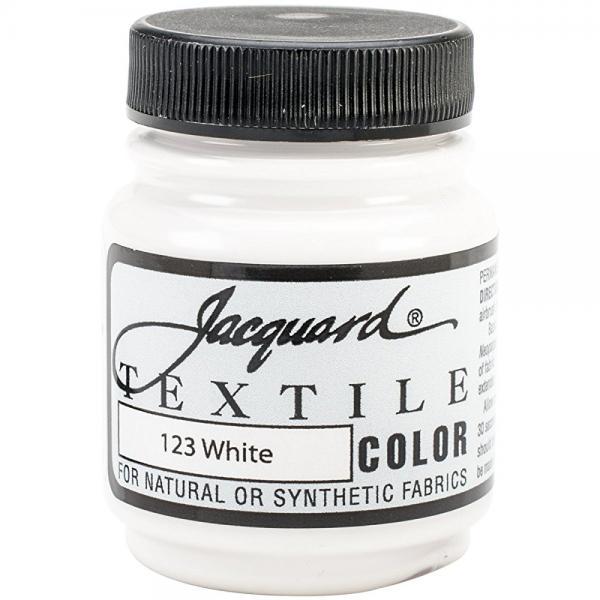 jacquard products jacquard textile color fabric paint, 2.25-ounce, white