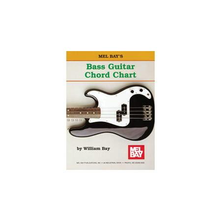 Mel Bay Bass Guitar Chord Chart Walmart