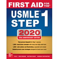 First Aid for the USMLE Step 1 2020, Thirtieth Edition (Paperback)