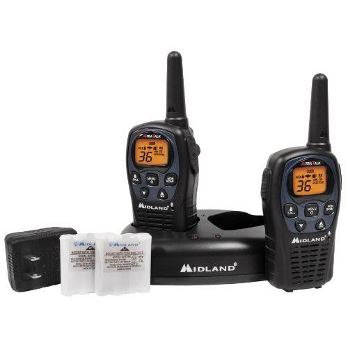 Midland LXT560VP3 Gmrs 2-way Radio 36 Channels Perp Up To 26 Miles Value Pack