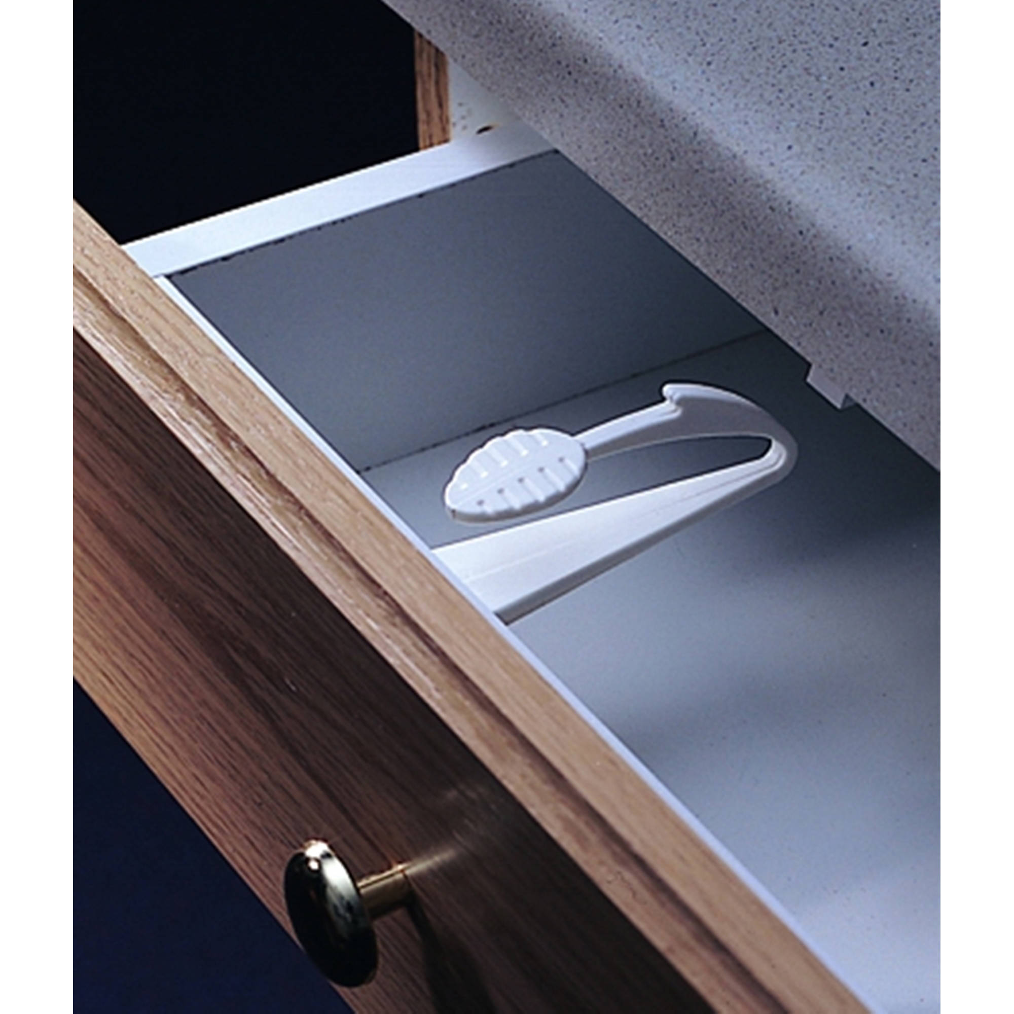 KidCo Adhesive Mount Cabinet and Drawer Lock, 3pk