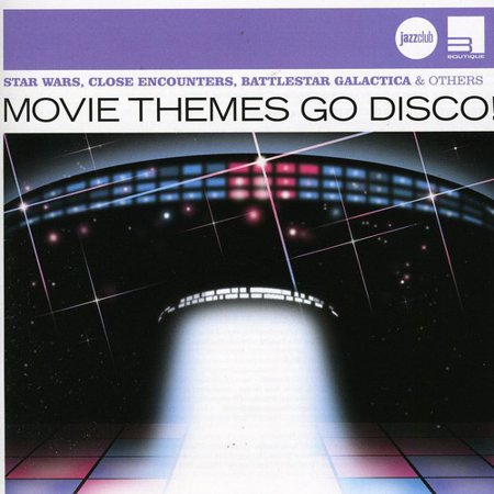 Movie Themes Go Disco! (CD) - Disco Themes