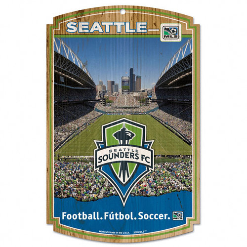 Seattle Sounders 11x17 Wood Sign