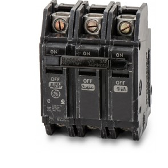 GE THQC32070WL Line and Load Lugs 3 Pole 120/240 Volt   7...