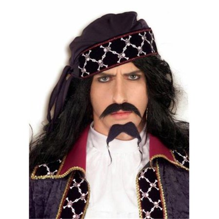 Costumes For All Occasions Fm58280 Pirate Mustache And Beard