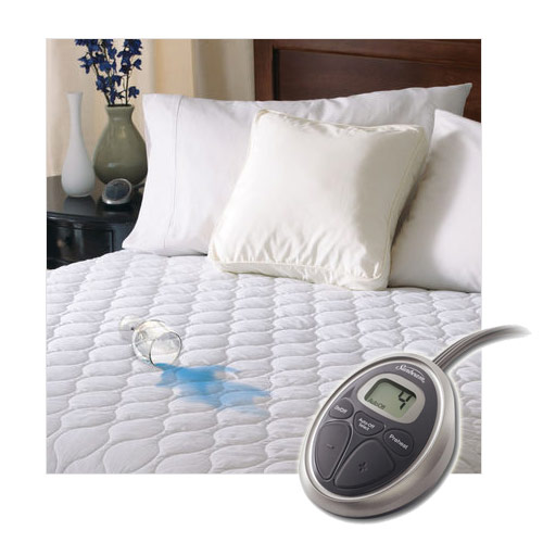 Sunbeam SelectTouch Waterproof Quilted Electric Heated Mattress Pad by SUNBEAM