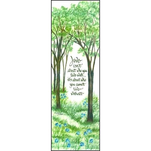 LPG Greetings Life Lines Love Isn't About by Lori Voskuil-Dutter Graphic Art Plaque