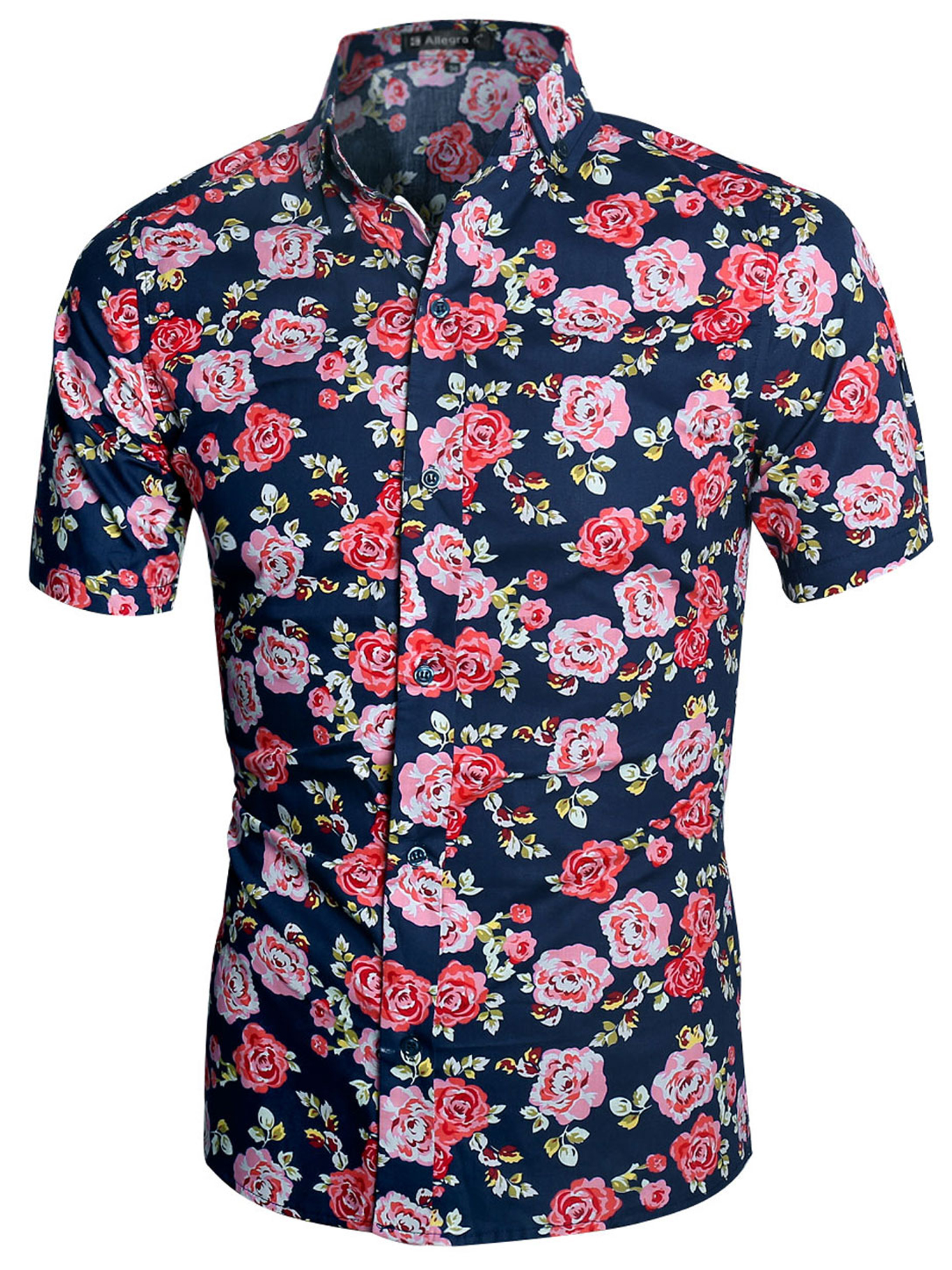 Floral Buttom Up