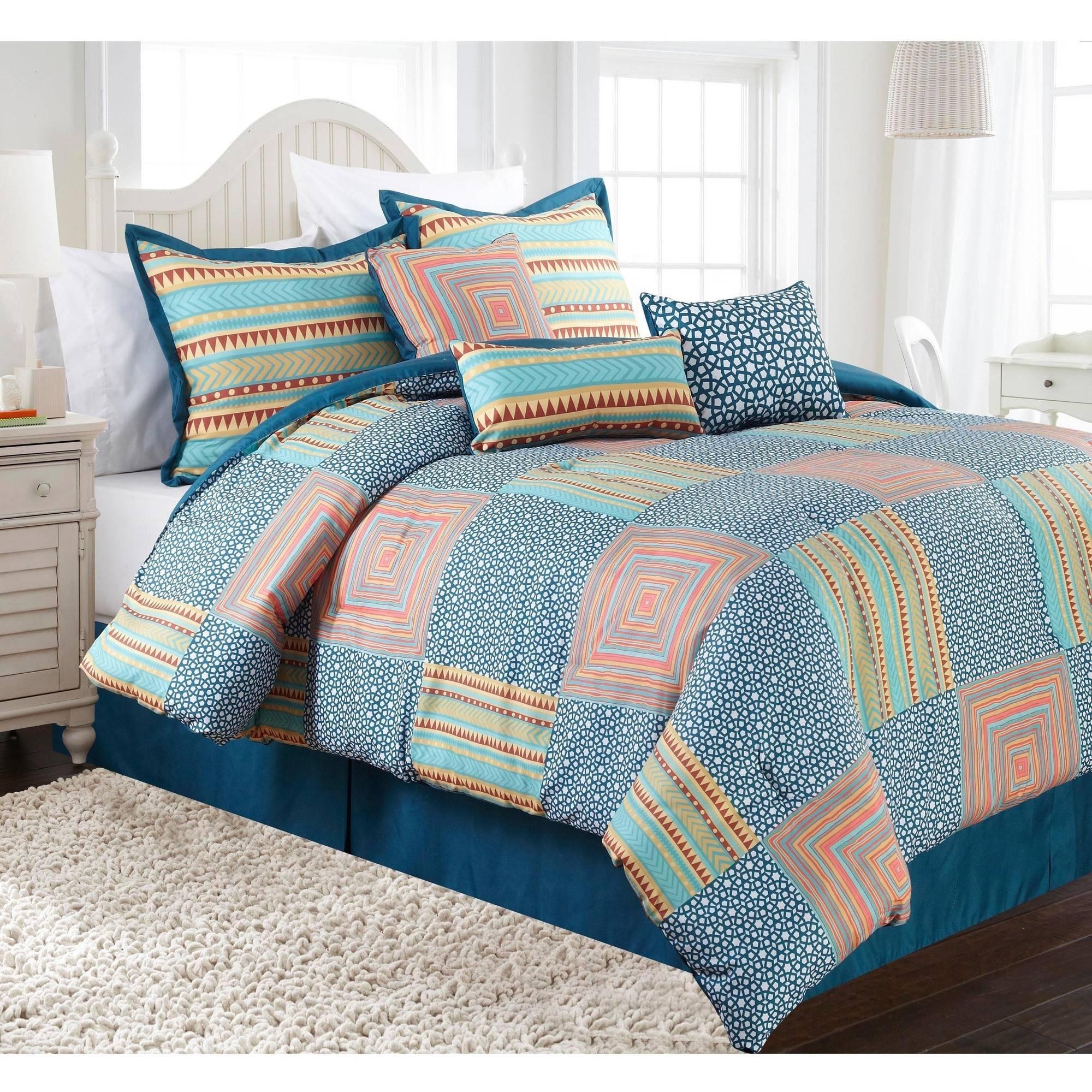 Amias 7-Piece Bedding Comforter Set