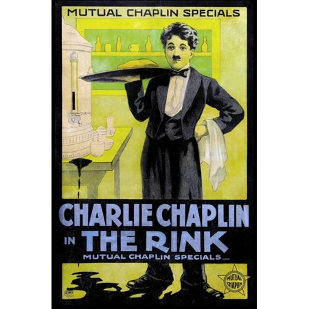 The Rink Movie Charlie Chaplin Poster Print Print Wall