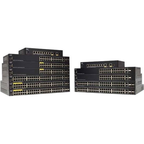 Cisco SG350-28MP 28-Port Gigabit PoE Managed Switch 26 Ports Manageable 4 x Expansion Slots 10 100 1000Base-TX,... by Cisco