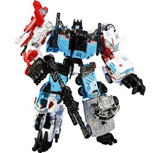 Transformers Combiner Wars UW03 Defensor Guardian Japan Version by Takara