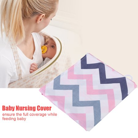 WALFRONT Soft Breathable Cotton Nursing Cover Baby Infant Breastfeeding Blanket Shawl , Infant Nursing Cover, Baby Nursing Shawl - image 1 de 7