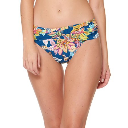 - Floral Hipster Bikini Bottoms