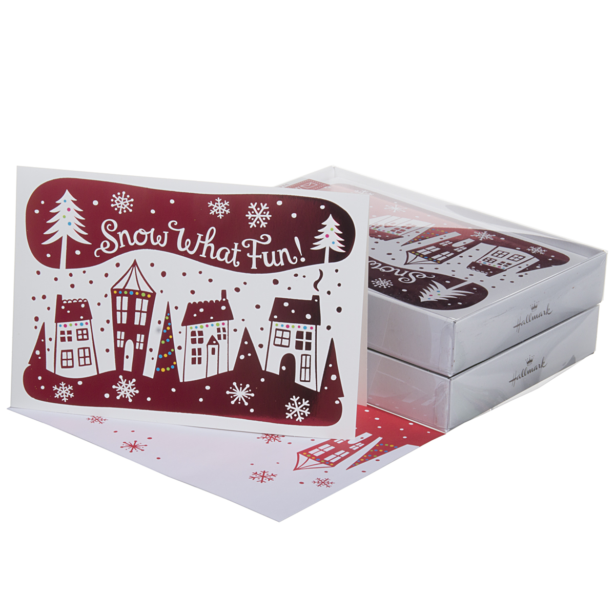 32 Pack Hallmark Christmas Greeting Cards With Envelopes Holiday Box