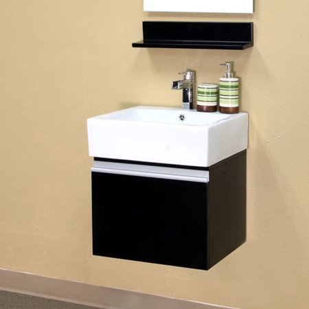 Tremendous Bellaterra Home Mason 21 Single Wall Mounted Bathroom Vanity Set Download Free Architecture Designs Intelgarnamadebymaigaardcom
