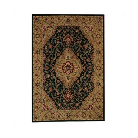 Shaw rugs accents antiquity ebony oriental rug - Shaw rugs discontinued ...