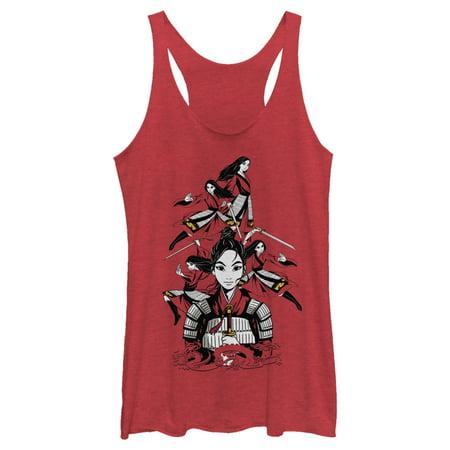 Disney Mulan Women's Ready for Battle Racerback Tank Top