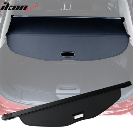 Compatible with 14-17 Nissan X-trail Rogue Tonneau Cargo Shade Cover Black-PU (Nissan Rogue With Leather Seats For Sale)