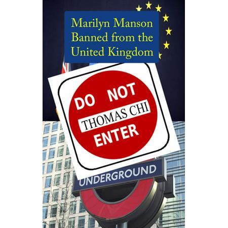 Marilyn Manson Banned from the United Kingdom - eBook - Marilyn Manson Halloween Mix