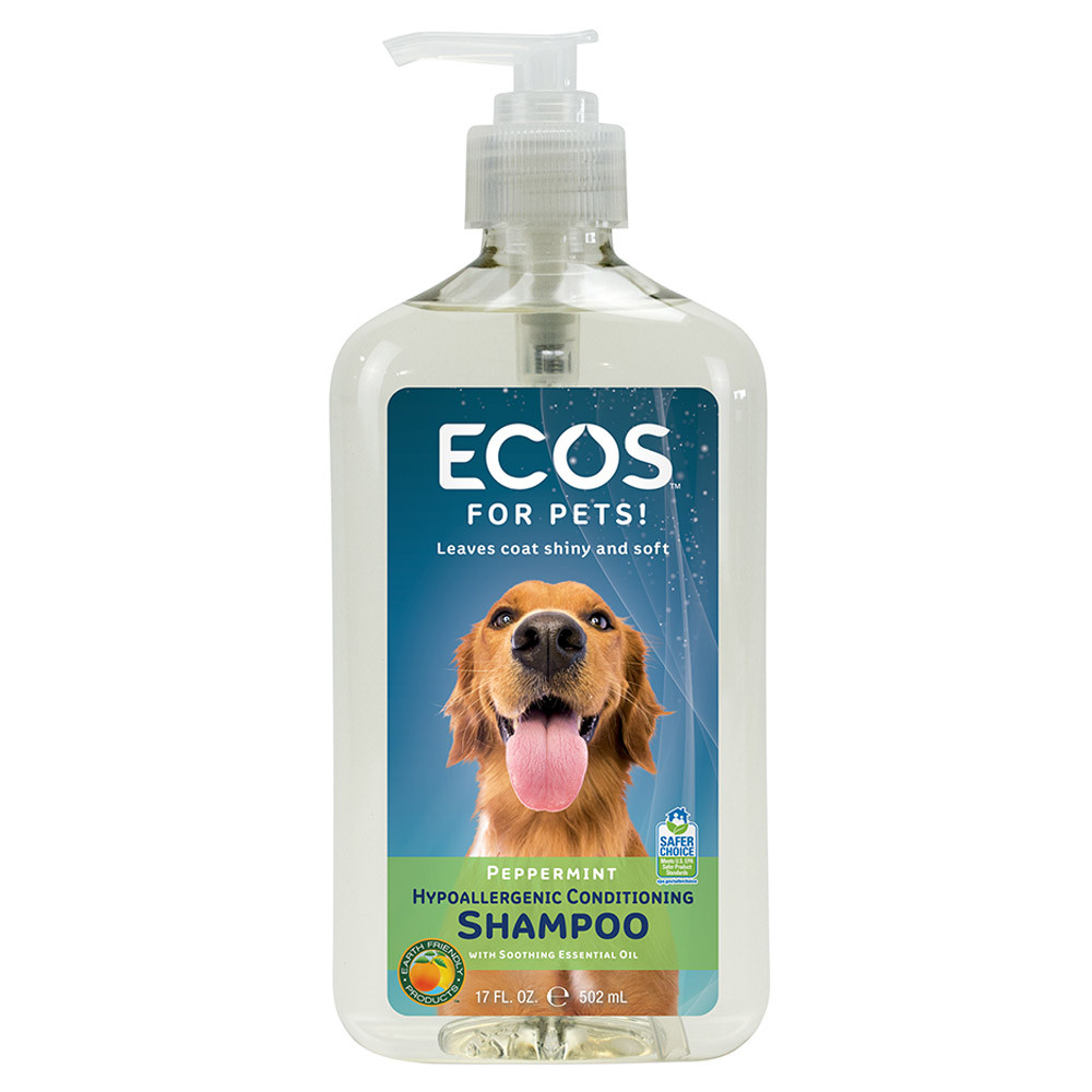 ECOS Earth Friendly Products Pet Shampoo 17 oz. Bottle 6-count ...