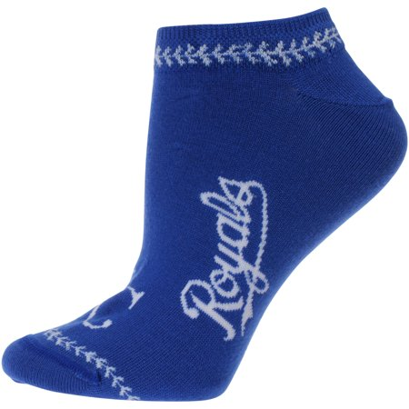 Kansas City Royals For Bare Feet Women's Stitch Ankle Socks - M ()