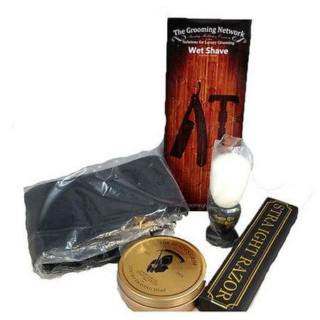Shave Ready Shaving Straight Razor 6 8  Gd With Box 208 Gold Dollar Straight Razor   Open Box