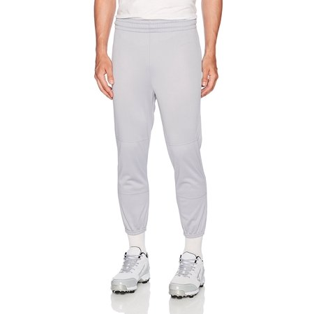 Men's Basic Classic Fit Baseball Pant, Grey, X-Large, 100% Polyester By Wilson from USA