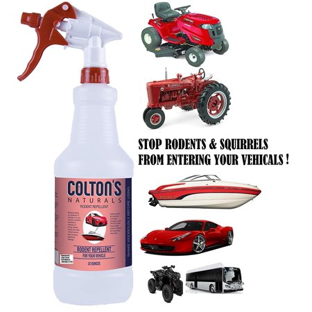 Vehicle Pest Repellent – Rodent Repellent for Cars – Mice, Rats & Squirrels  Repellent for Vehicles