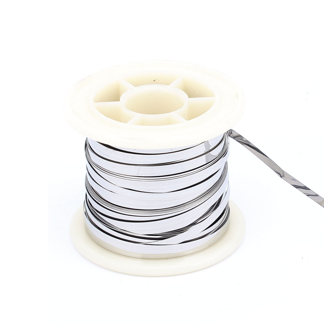 7.5M 24.6Ft 0.2x3mm Nichrome Flat Heater Wire for Heating Elements