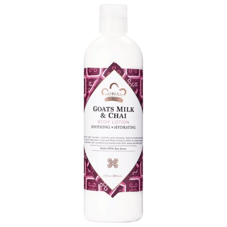 Goats Milk Eczema (Nubian Heritage Body Lotion Goat's Milk & Chai with Rose Extract, 13)