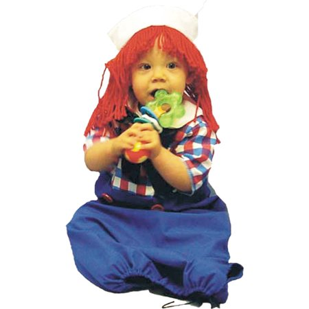 Raggedy Andy Bunting Baby Halloween (Andy's Halloween Costume Office)