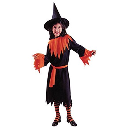 Girls Wendy The Witch Kids Child Fancy Dress Party Halloween Costume, L (Wendy's Restaurant Halloween Costume)