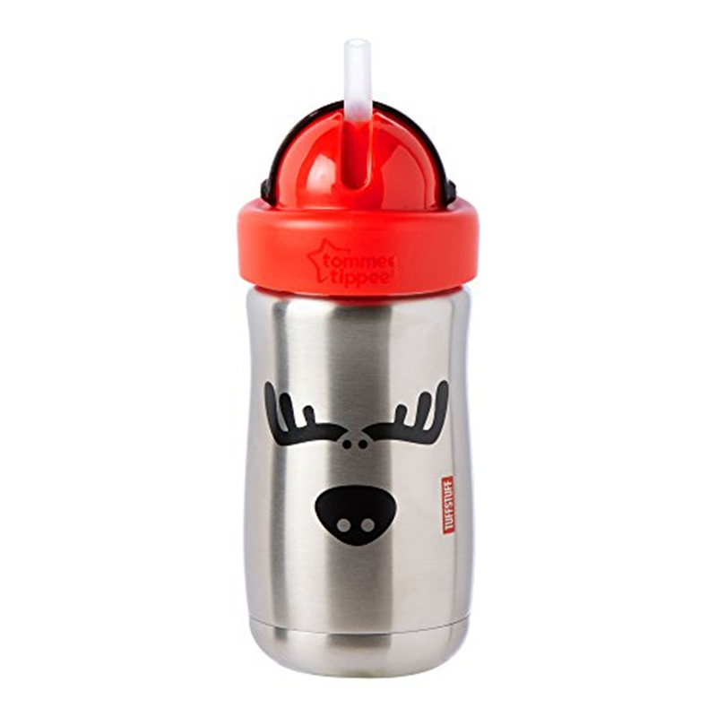 Tommee Tippee Stainless Steel Tuff Stuff Straw Cup