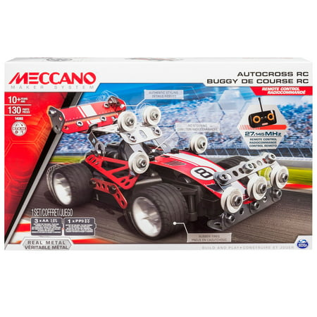 - Meccano by Erector, Autocross RC Model Building Kit