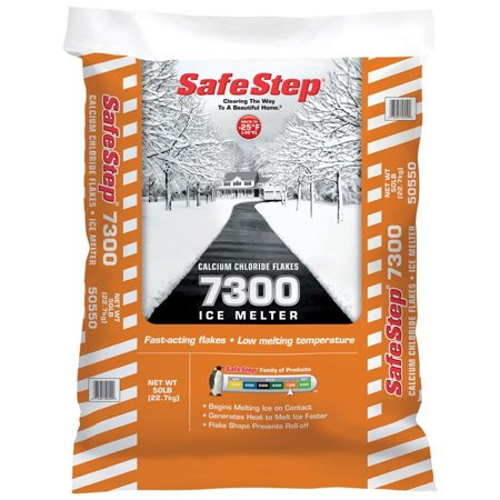 Safe Step 50550 7300 Calcium Chloride Ice Melter, 50 lbs ()