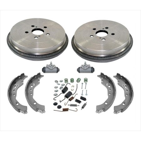 Fits For 09-19 Toyota Corolla 1.8L Brake Drums & Shoes Springs Wheel Cylinders Power Brake Spring