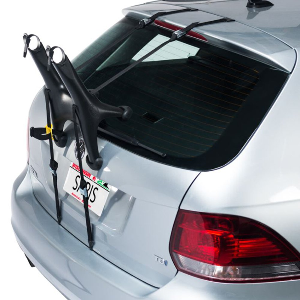 Saris Cycling Solo Compact Anti-Sway Single Bike Trunk Rack Transport for Car by Saris