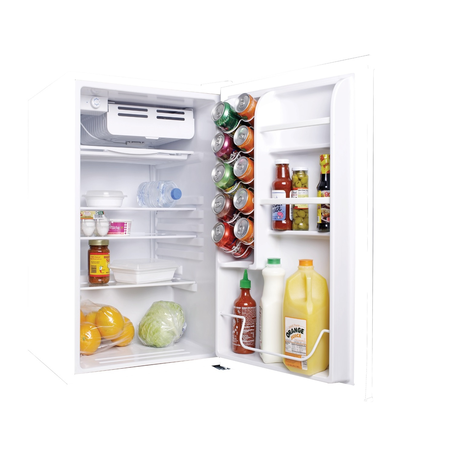 Haier pact Refrigerator with Half Width Freezer partment