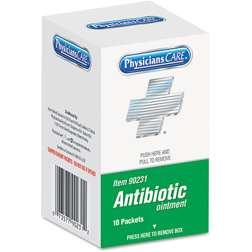 PhysiciansCare Antibiotic Ointment, 10 count