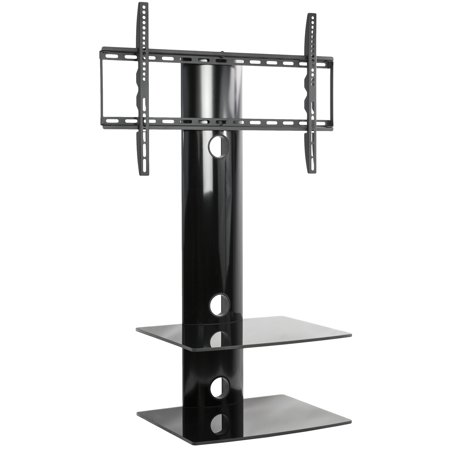 vivo tv swivel wall mount dual entertainment center. Black Bedroom Furniture Sets. Home Design Ideas