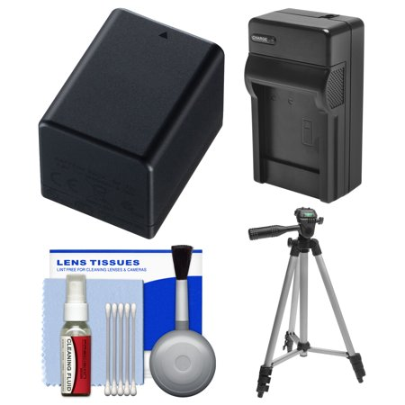 Essentials Bundle for Canon Vixia HF R70, R700, R72, R80, R800, R82 Camcorder with BP-727 Battery & Charger + Tripod + Cleaning Kit