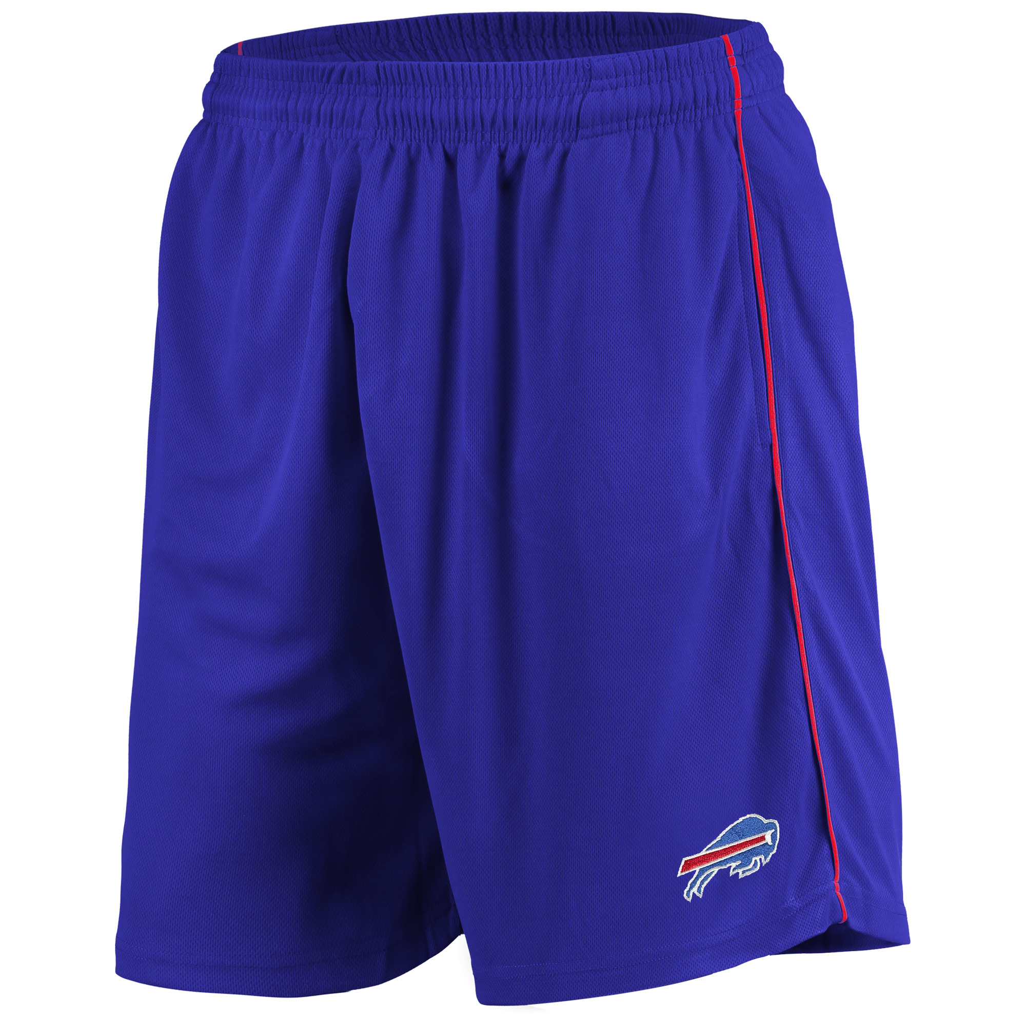 Men's Majestic Royal Buffalo Bills Mesh Shorts
