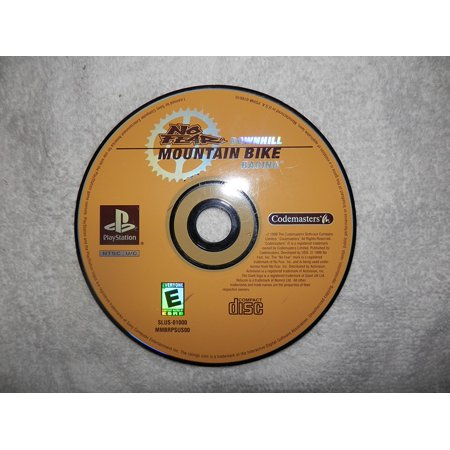No Fear Downhill Mountain Biking, Great single player action By Sonny PlayStation Mountain Bike Action Magazine