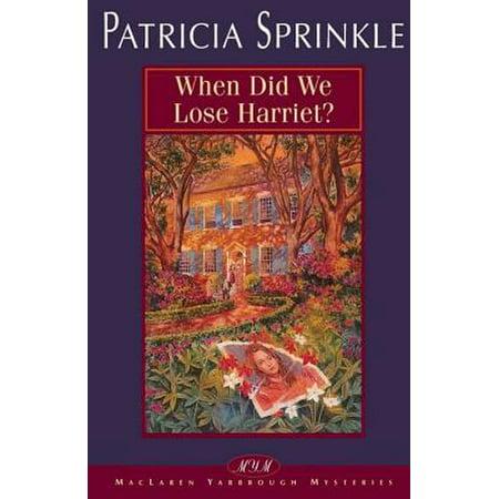 When Did We Lose Harriet? - eBook - When Did Halloween Start