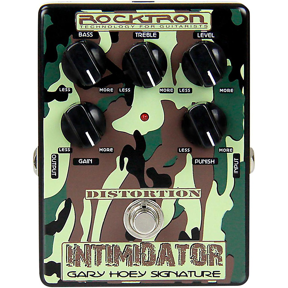 Rocktron Gary Hoey Intimidator Guitar Distortion Pedal by Rocktron