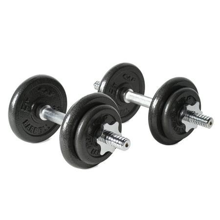 CAP Barbell 40 lb Adjustable Dumbbell Set (Cap Barbell Sportsgear 110 Lb Adjustable Dumbbell Set)