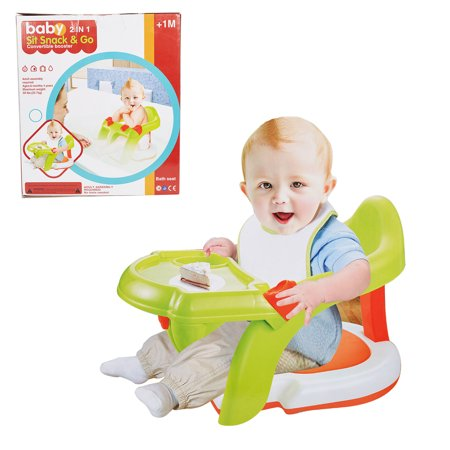 KARMAS PRODUCT 2-in-1 Baby Booster Seat for Eating Bathing ...
