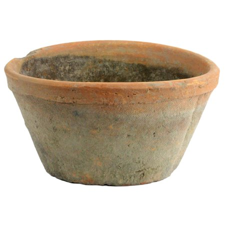 AREOhome Red Clay Oval Pot Planter ()
